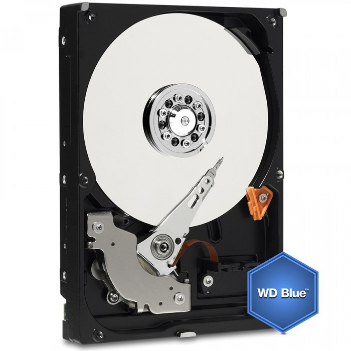 """HDD Desktop WD Blue (3.5"""""""", 2TB, 64MB, 5400 RPM, SATA 6 Gb/s) 0"""