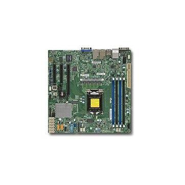 Supermicro MBD-X11SSH-F-O, Single SKT, Intel C236 PCH chipset, 8 x SATA3, 2 x GbE LAN, dedicated IPMI LAN, 3 x PCI-E3.0, mATX - Retail 0