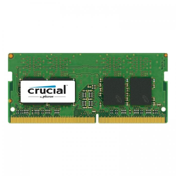 Notebook Memory Crucial 4GB DDR4, SODIMM, 2400 MHz, CL17, 1.2V