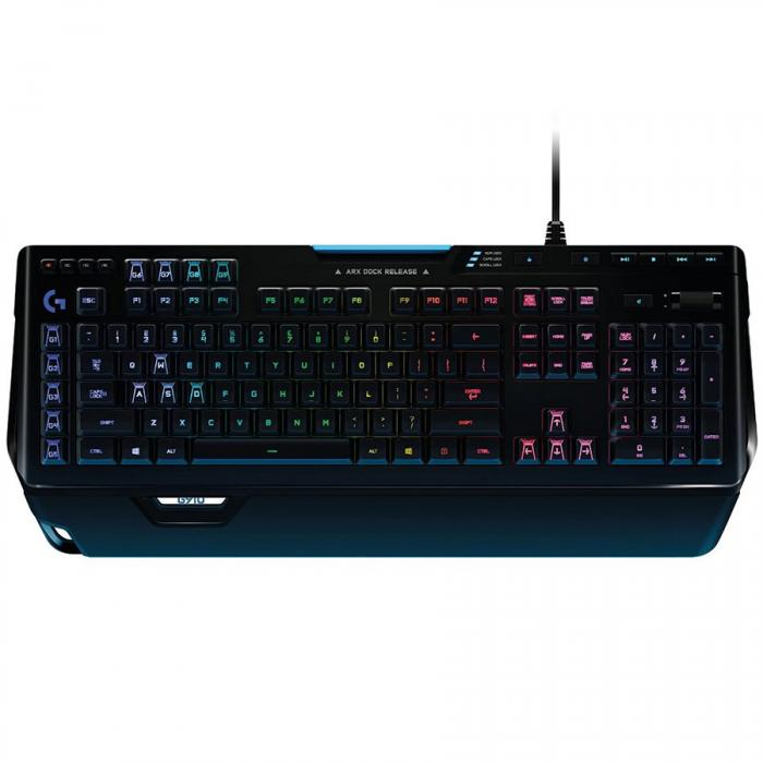 LOGITECH Gaming Keyboard G910 Orion Spectrum - INTNL # US International Layout 0
