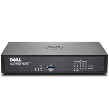 DELL SonicWALL TZ300, 2x800MHz cores, 1GB RAM, 64MB Flash, 5 x RJ45 Ports 10/100/1000, USB, VPN, VLAN 0