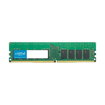 CRUCIAL 16GB DDR4-2666 RDIMM, CL=19, Dual Ranked, x8 based, Registered, ECC, DDR4-2666, 1.2V, 2048Meg x 72 0