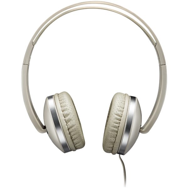 CANYON Stereo headphone with microphone and switch of answer/end phone call, cable 1.2M, Beige 2