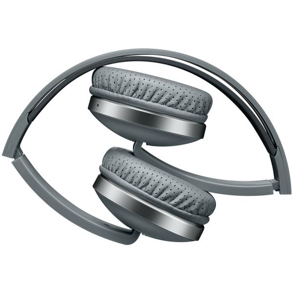 Wireless Foldable Headset, Bluetooth 4.2, Gray 1