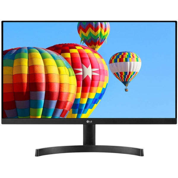 Monitor LED LG 24MK600M-B 23.8\'\' FreeSync, IPS, 1920x1080, 250cd, 1000:1, 5ms, AntiGlare, VGA, 2HDMI, Audio out, VESA 0