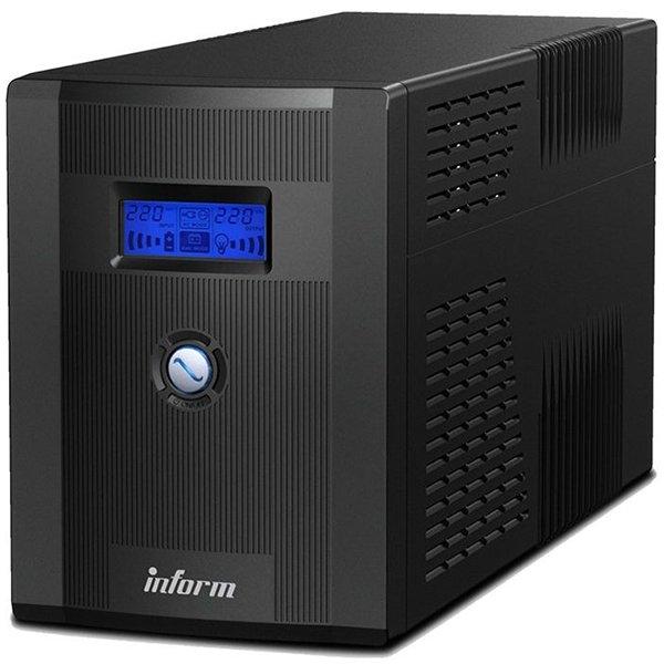 UPS Legrand Inform Guardian 600VA/360W Line interactive, Single-phase, Protection R711/R745, 3 LED, Pseudo-sinusoidal, Battery 1 x 12 V, 7 Ah, 4.35 Kg, USB, IN 1x C13, OUT 1xC13 & 1xSHK 0