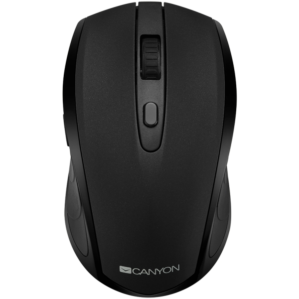 2 in 1 Wireless mouse, Optical 800/1200/1600 DPI, 6 button, 2 mode(BT/ 2.4GHz), black 0