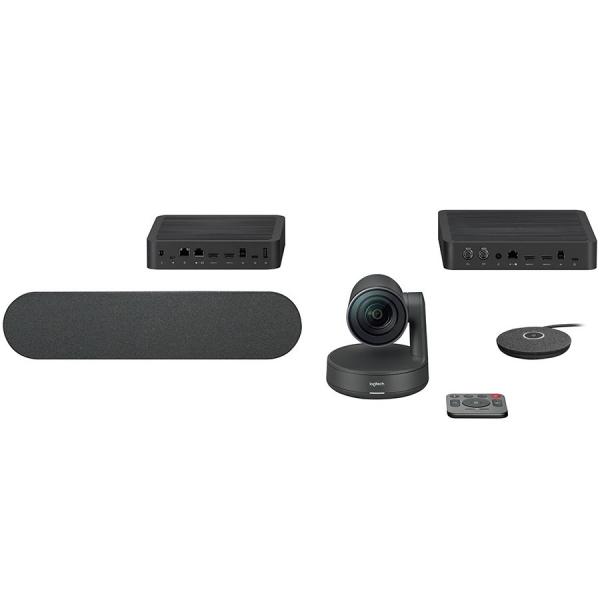 "LOGITECH Rally Ultra-HD ConferenceCam - BLACK - USB - PLUGC - EMEA - EU ""960-001218"" 0"