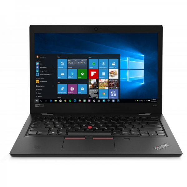 Notebook / Laptop business Lenovo 13.3'' ThinkPad L380, FHD IPS, Procesor Intel® Core™ i7-8550U (8M Cache, up to 4.00 GHz), 8GB DDR4, 256GB SSD, GMA UHD 620, Win 10 Pro, Black 0