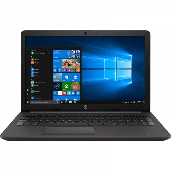 Notebook / Laptop business HP 15.6'' 255 G7, FHD, Procesor AMD Ryzen 3 2200U (4M Cache, up to 3.40 GHz), 8GB DDR4, 256GB SSD, Radeon Vega 3, Win 10 Pro, Dark Ash Silver