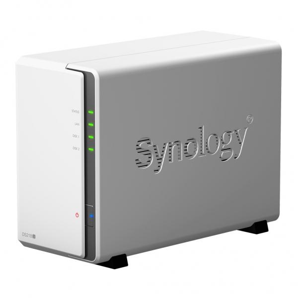 Statie de BACK-UP date Network Attached Storage (NAS) DiskStation DS218j 512 MB - Synology