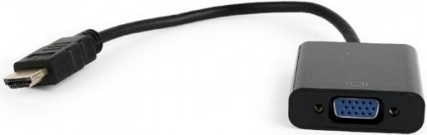 "Adaptor HDMI la VGA, T/M, single port, GEMBIRD ""A-HDMI-VGA-04"" 0"