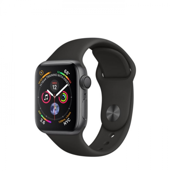 Apple Watch Series 4  - 40mm, Aluminum Case Sport Band, Space grey