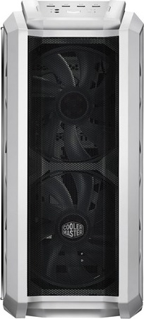 "CARCASA COOLER MASTER Middle-Tower E-ATX, MasterCase. H500P MESH, tempered glass, 2* 200mm RGB fan (incluse), I/O panel, white ""MCM-H500P-WGNN-S00"" 2"