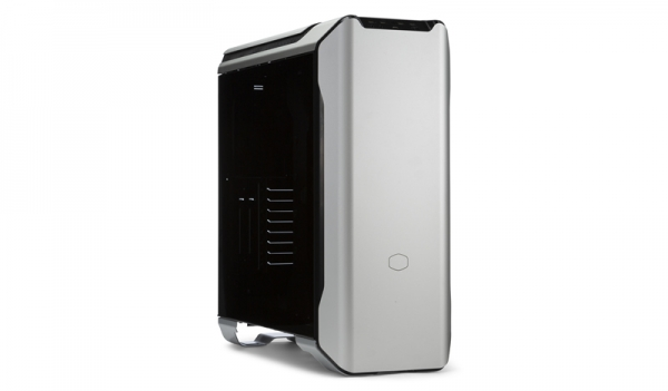 "CARCASA COOLER MASTER Middle-Tower E-ATX, MasterCase SL600M, w/ controller, tempered glass, 2* 200mm fan (incluse), I/O panel, black & silver ""MCM-SL600M-SGNN-S00"" 0"