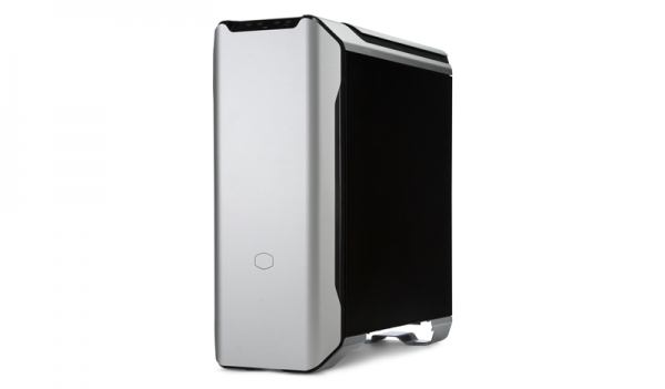 "CARCASA COOLER MASTER Middle-Tower E-ATX, MasterCase SL600M, w/ controller, tempered glass, 2* 200mm fan (incluse), I/O panel, black & silver ""MCM-SL600M-SGNN-S00"" 3"