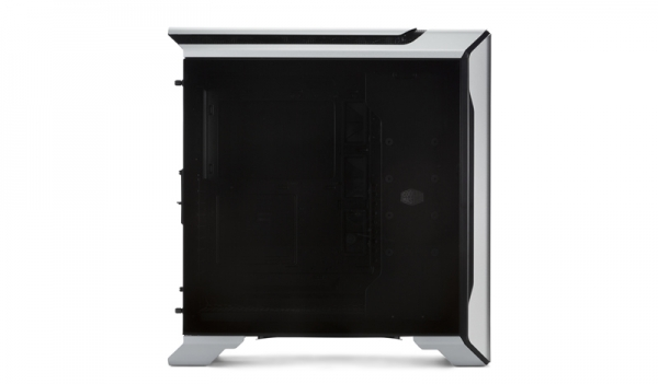 "CARCASA COOLER MASTER Middle-Tower E-ATX, MasterCase SL600M, w/ controller, tempered glass, 2* 200mm fan (incluse), I/O panel, black & silver ""MCM-SL600M-SGNN-S00"" 2"