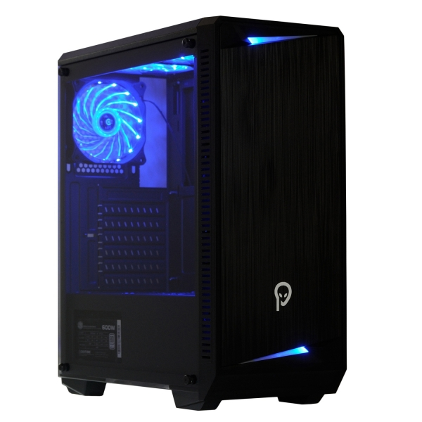 "CARCASA SPACER Middle-Tower ATX, fara sursa, H3x@, side window, 6* 120mm fan instalate, I/O panel, Black ""SP-GC-04"" 0"