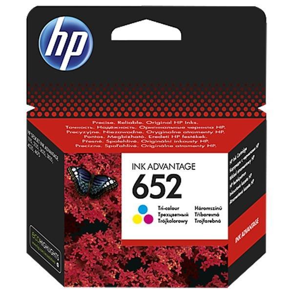 Cartus cerneala Original HP F6V24AE Tri-color 652,pentru DESKJET 2135 AIO