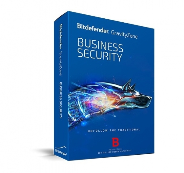 Licenta Securitate business Antivirus Bitdefender GravityZone Business Security, 5 useri, 1 an, electronic