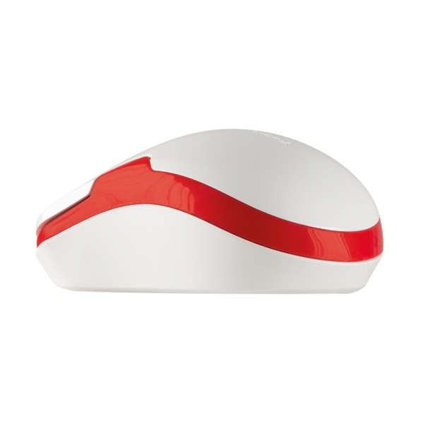 """MOUSE LOGILINK wireless, 1200dpi, 3 butoane, 1 rotita scroll, white&red """"ID0129"""" (include timbru verde 0.1 lei) 3"""