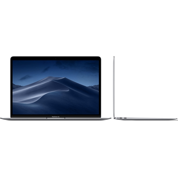 Notebook / Laptop Apple 13.3'' MacBook Air 13 IPS Retina, Intel i5 1.6GHz(pana la 3.6GHZ), 8GB, 128GB SSD, GMA UHD 617, MacOS Mojave, Space Grey, INT keyboard 2