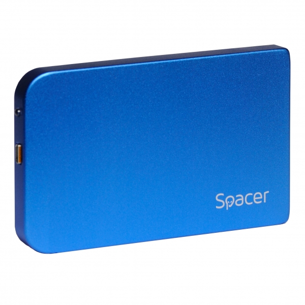 "RACK EXTERN SPACER 2.5"" HDD S-ATA to USB 3.0, Aluminiu, Albastru, ""SPR-25611A"" 1"