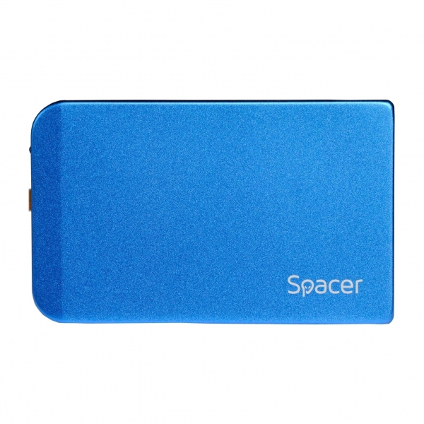 "RACK EXTERN SPACER 2.5"" HDD S-ATA to USB 3.0, Aluminiu, Albastru, ""SPR-25611A"" 0"