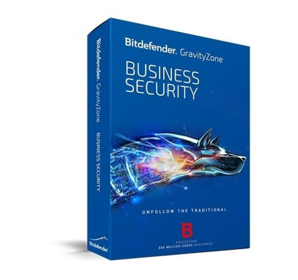 Licenta electronica Antivirus Bitdefender GravityZone Business Security, 3 useri, 1 an - securitate business 0