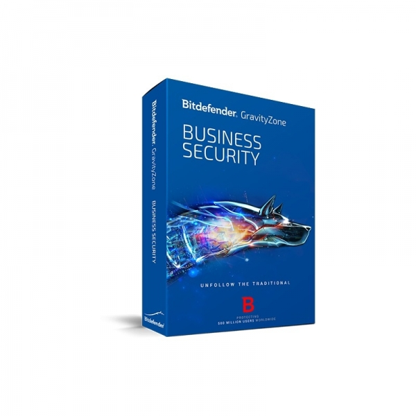 Licenta electronica Antivirus Bitdefender GravityZone Business Security, 3 useri, 1 an - securitate business 1