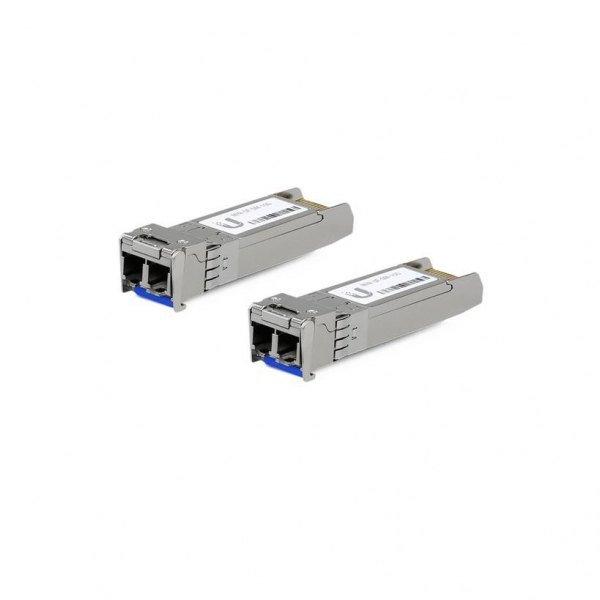 Supported Media - Single-Mode Fiber/ Connector Type - (2) LC/ BiDi - N/A/ TX Wavelength - 1310 nm/ RX Wavelength - 1310 nm/ Data Rate - 10 Gbps SFP+/ Cable Distance - 10 km/ Pack Options - 2-Pack, 20- 0